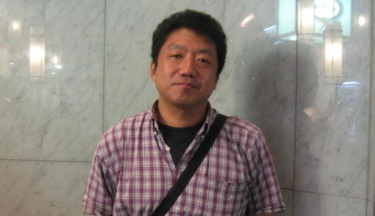 越智弘二さんと福島の話をした