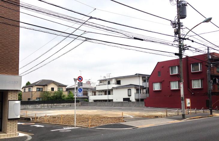 5月2日(月) 五日市街道沿いは地味に新しくなっていっている